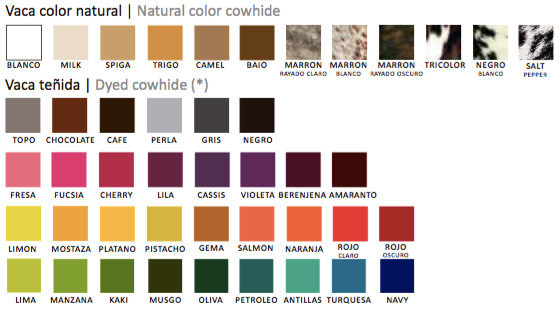 cowhide-colors